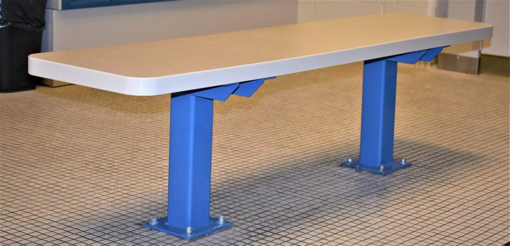Solid Plastic Benches Prestwick Resources Inc